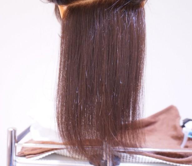 縮毛矯正の新技 開発中。