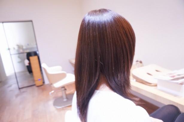 ♪前髪矯正と新しいカラー♪